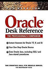 [(Oracle Desk Reference)] [By (author) Guy Harrison] published on (September, 1999)
