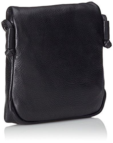 BREE, Damen Handtasche, Estada NEW 2 Schwarz (Schwarz genarbt)