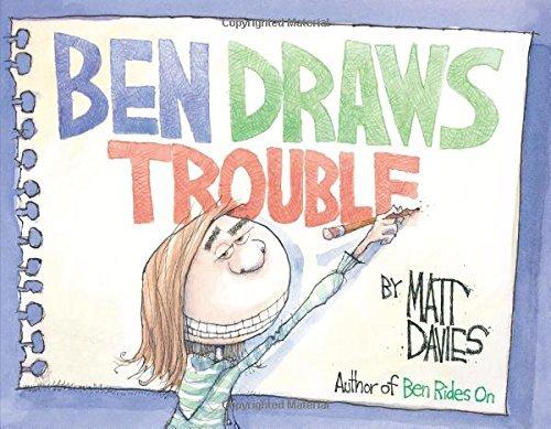 Ben Draws Trouble by Matt Davies (2015-04-07)