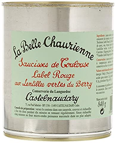 Label Rouge - La Belle Chaurienne Saucisses de Toulouse Label
