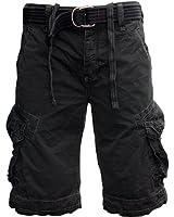 JET LAG Cargo Shorts Take off 3 schwarz