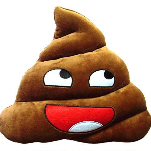 Preisvergleich Produktbild Tonsee Wesentlichen Mini niedlich Emoji Emoticon Kissen Poo Form Kissen Puppe Spielzeug Home Office dekorative Sofakissen