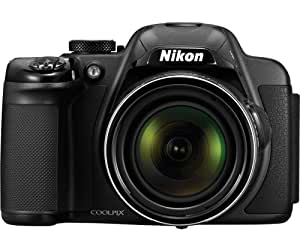 Nikon Coolpix P520 18.1MP Point-and-Shoot Digital Camera (Red) with 4GB Card, Camera Pouch, HDMI Cable