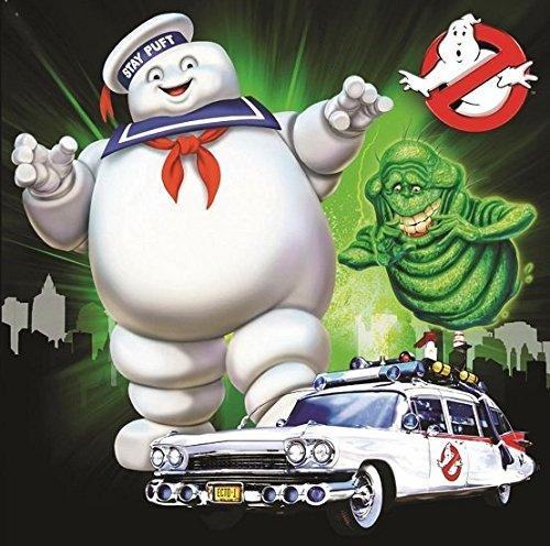 Ghostbusters quadratisch Offene Grußkarte, (Ghostbusters Supplies Party)