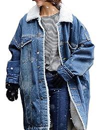 suchergebnis auf f r damen jeansjacke mit fell bekleidung. Black Bedroom Furniture Sets. Home Design Ideas