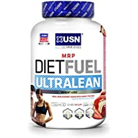 USN Diet Fuel Ultralean Weight Control Meal Replacement 2 kg Shake Powder (Strawberry)