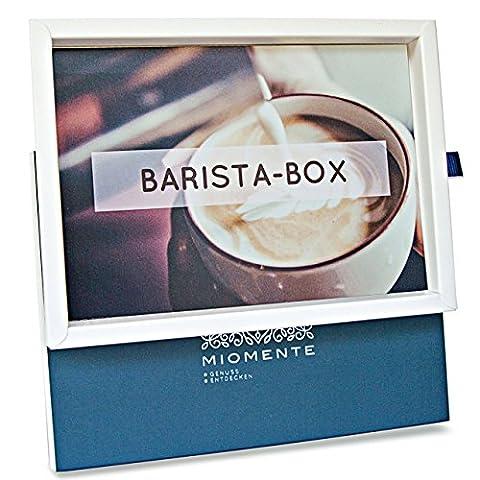 Miomente BARISTA-Box: Barista-Kurs-Gutschein - Geschenk-Idee Erlebnisgutschein