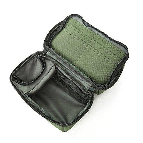 Preisvergleich Produktbild Wasserdicht Fishing Tackle PVA Beutel und Kempa Tasche (25 cm x 15 cm x 16 cm) mit mehrere Taschen mit Gebogene Nase Angeln Pinzette enthalten