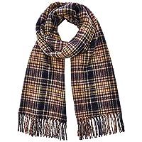 Scotch & Soda Classic Woven Check Scarf voor heren, wol-blend kwaliteit sjaal