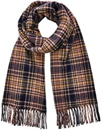 Scotch & Soda Classic Woven Check Scarf In Wool-Blend Quality Bufanda para Hombre