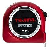 Tajima H1550MW Hi Lock Mètre à ruban 5 m/25 mm Classe 1, Rouge