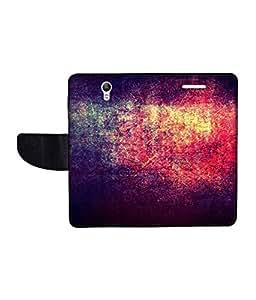 KolorEdge Printed Flip Cover For Lenovo S1 Multicolor - (1478-50KeMLogo11591LenovoS1)