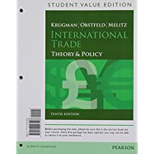 International Trade: Theory and Policy, Student Value Edition