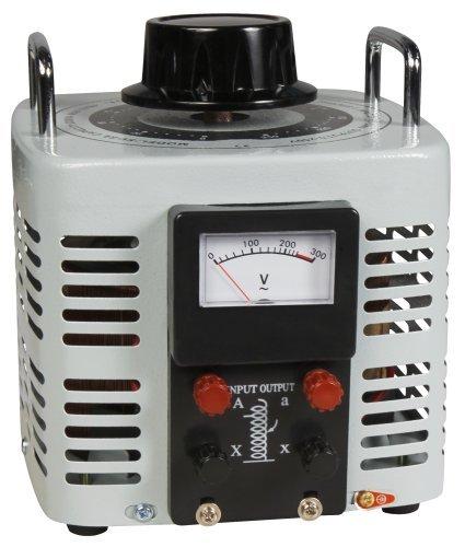 Preisvergleich Produktbild Ringkern-Stelltrafo McPower ''V-8000''. 0-250 V. 8 A. 2.000 W. NICHT galvanisch getrennt
