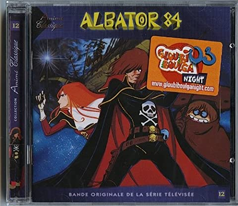 CD ALBATOR 84 collection anime classique 12 ( harlock )Bande