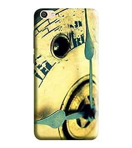 Hi-Me Designer Phone Back Case Cover Vivo V5 :: Vivo V5s :: Vivo Y67 :: Vivo V5 Lite :: Vivo V5 Perfect Selfie ( Needles of Vintage Clock )