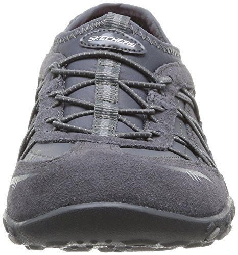 Skechers Breathe Easy City Lights, Ballerines femme Gris (Ccl)