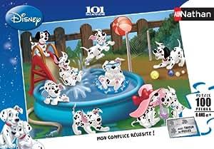Nathan - Puzzle enfant - 100 pieces - Les 101 Dalmatiens s'amusent - Ref: 866946