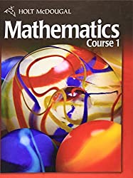 Holt McDougal Mathematics Course 1: Student Edition by HOLT MCDOUGAL (2010-01-01)