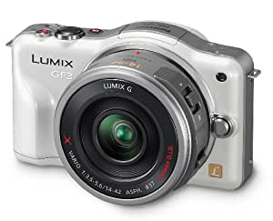 Panasonic Lumix DMC-GF3X 12.1MP Compact System Camera (12.1MP, 14-42mm lens ) 3.0 inch LCD - White