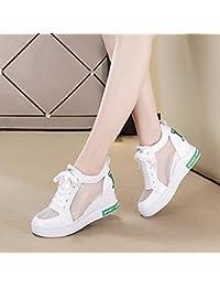 d24783eb337d2 GTVERNH-Mujeres En Zapatos De Tenis Son Mas Y Mas Comoda Zapatos Casuales De  Primavera Y Verano De Fondo Grueso Deportes De Verano…