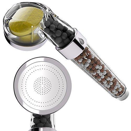 pH REJUVENATE Duschkopffilter mit Vitamin C – filtert Fluorid und Chlor – spart Wasser & macht es weich & erhöht den Druck – einfache Installation - 3