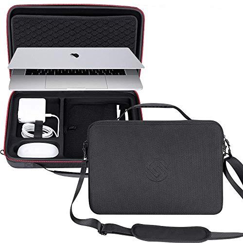 Smatree Tragetasche für 15 Zoll Mackbook Pro 2017/2018 Version, Laptop Tasche für ipad 10.5 Zoll, ipad 9,7 Zoll