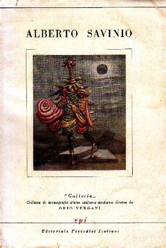 Portada del libro Alberto Savinio