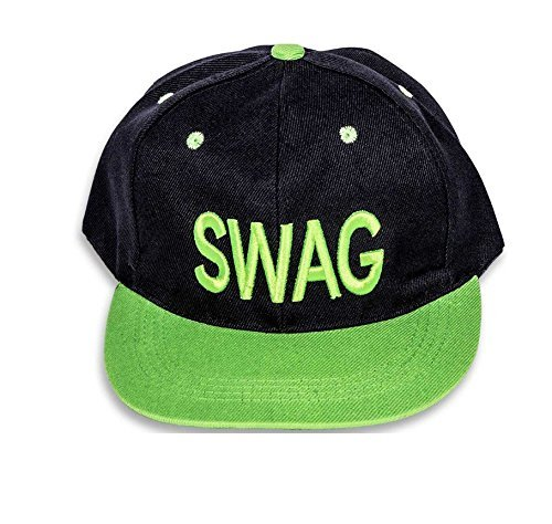 Green Swag Hip Hop Snapback Cap  available at amazon for Rs.225
