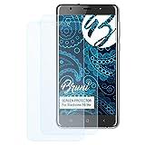Bruni Schutzfolie für Blackview R6 Lite Folie - 2 x glasklare Displayschutzfolie