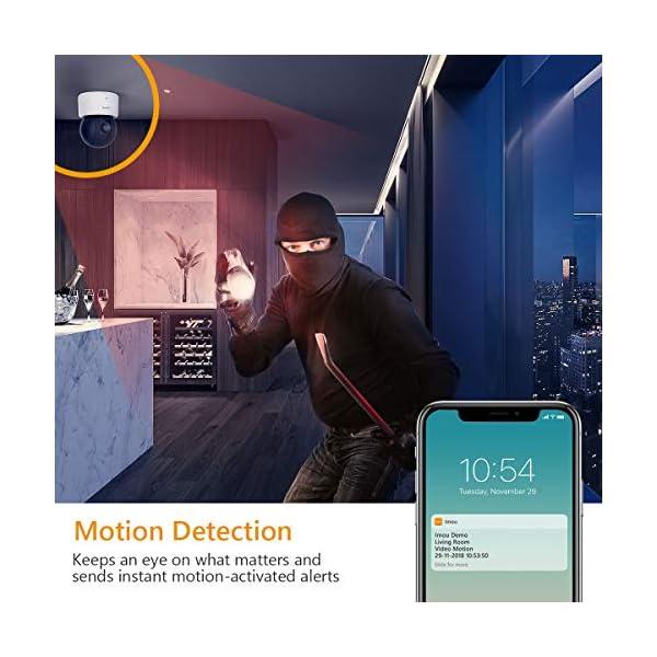 Imou-Telecamera-di-Sicurezza-Telecamera-Wi-Fi-IP-da-720p-Telecamera-Dome-PT-Telecamera-di-sorveglianza-Advanced-Home-con-rilevamento-del-Movimento-Audio-bidirezionale-e-Visione-Notturna