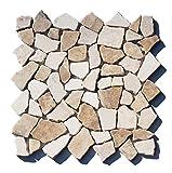 M-022 Marmor Bruchstein Mosaikfliesen