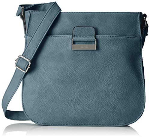 GERRY WEBER Talk Different Ii Shoulderbag Lvz, Borsa a spalla donna Blu (Blue)