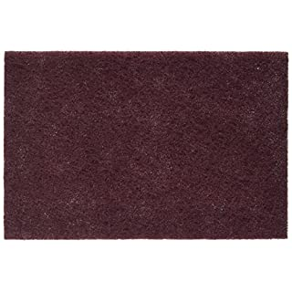 Surface Conditioning Hand Pad, Medium, Maroon (Pack of 10)