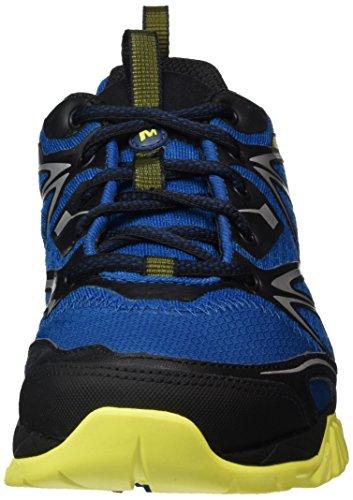 Merrell Capra Bolt Gore-Tex, Chaussures de Randonnée Basses Homme, Noir, 41 EU Multicolore (Mykonos)