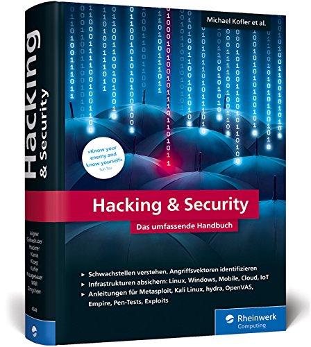 Hacking & Security: Das umfassende Handbuch (Kali)