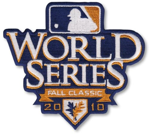 The Emblem Source World Series 2010 Patch - Fall Classic (World Series Patch -)