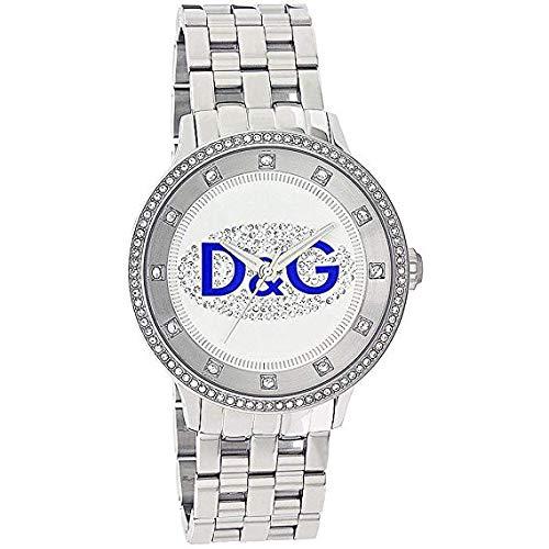 D&G Dolce&Gabbana Orologio da Donna con Cassa e Cinturino in Acciaio - DW0133