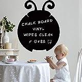 47,5 * 58.5cm jolie coccinelle façonné tableau autocollants diy black board tableau...