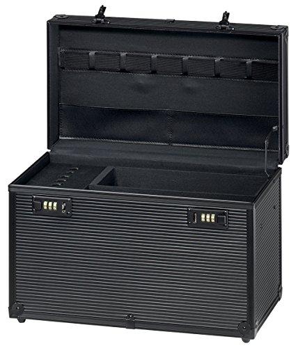 """Comair 3011174 Werkzeugkoffer \""""Profi\"""" Aluminium, schwarz"""