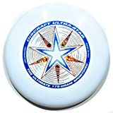 "Discraft Ultra-Star 175g Ultimate Frisbee ""Starburst"" - blanco"