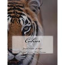 Cahier - Grand Format - 48 pages - Collection Sciences: Petits Carreaux - Design Original 10