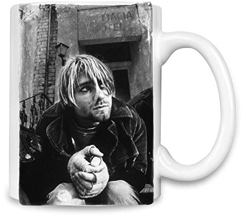 Nirvana Weinlese Kurt Cobain Fotografie - Vintage Kurt Cobain Photography Unique Coffee Mug | 11Oz Ceramic Cup| The Best Way to Surprise Everyone On Your Special Day| Custom Mugs by