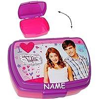 Preisvergleich für alles-meine.de GmbH Lunchbox / Brotdose - Disney Violetta - Sandwich Box - Brotbüchse Küche Es..