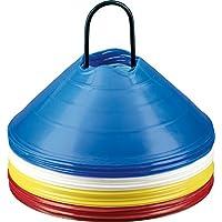 Derbystar Markierungshütchenset - rot,blau,gelb,weiß