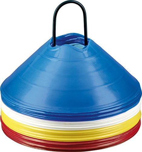 Derbystar Uni Markierungshütchenset, Mehrfarbig, 20 x 6 cm