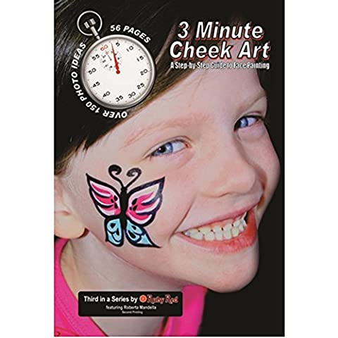 Maiden Texas Face Paint, How To Booklet - 3 Minute Cheek Art