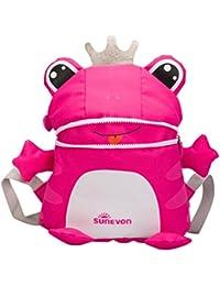 Goosuny Rucksäcke Kinderrucksack Kinder Kleinkind Rucksack Rucksackhandtaschen Niedlich Tier Mini Schule Tasche Reiserucksack Für Baby Jungen Mädchen Kleinkinder - Frosch