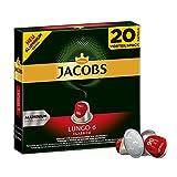 Jacobs Kapseln Lungo Classico - Intensität 6 - 200 Nespresso®* kompatible Kaffeekapseln aus Aluminium (10 x 20 Kapseln)