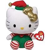 Hello Kitty Baby - Weihnachtsoutfit grün, 15cm lim.